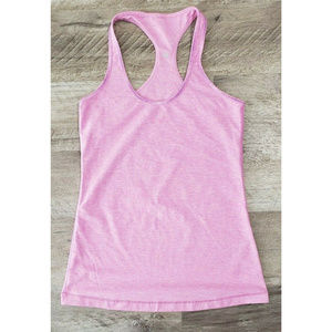 Lululemon Pink Racerback Athletic Workout Tank Top